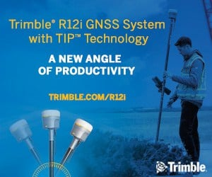 Trimble R12i GNSS System with TIP Technology