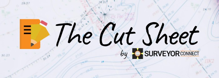 The Cut Sheet cover image with logo