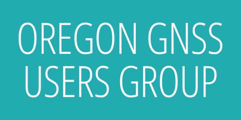 Oregon GNSS Users Group logo
